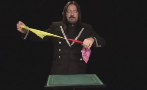 Handkerchief magic trick
