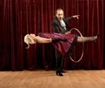 Levitation magic trick